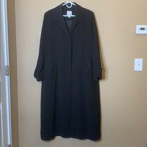 Anne Klein duster trench coat